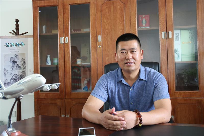 走访副会长企业扬州裕盛庄园生态农业股份有限公司
