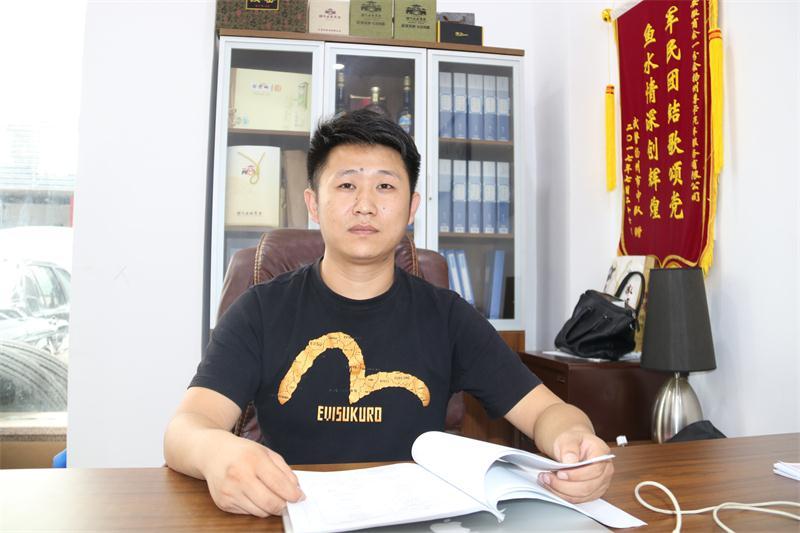 走访理事单位潘攀的企业——扬州尊卡汽车连锁公司