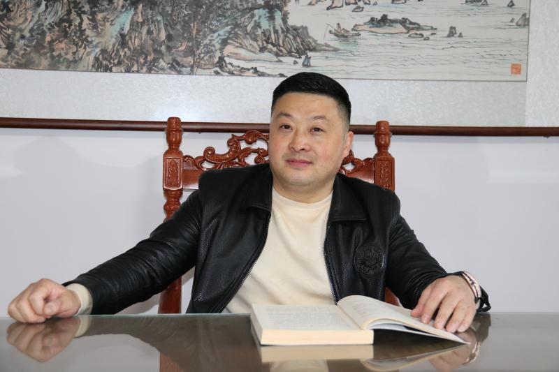 走访副会长单位王长洋的企业——滁州金吉莉建设工程有限公司