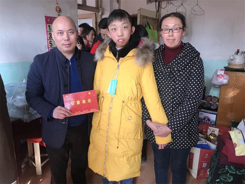 商会会员积极参加扬州电视台送温暖大行动