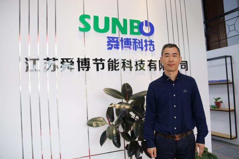 于金涛会长一行走访副会长朱再平企业江苏舜博节能科技有限公司