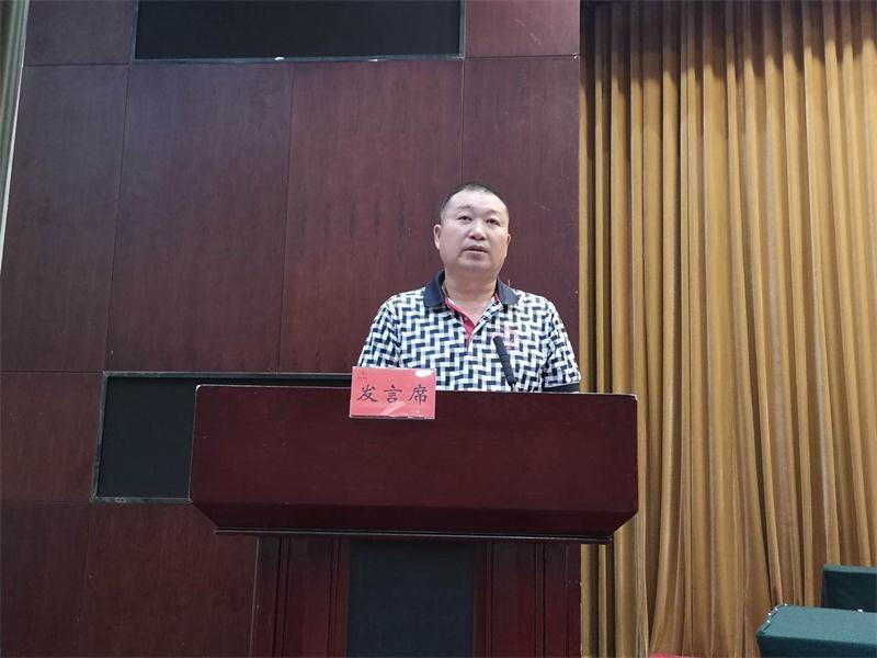 于金涛会长参加市工商联(总商会)八届五次常委扩大会